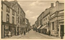 FORE STREET, LOOKING UP