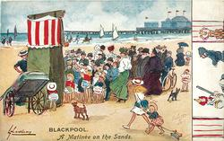 A MATINEE ON THE SANDS  Punch & Judy show on the sands