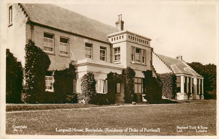 Langwell House Berriedale Residence Of The Duke Of