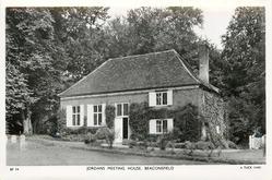 JORDANS MEETING HOUSE