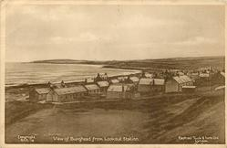 VIEW OF BURGHEAD FROM LOOKOUT STATION