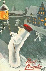 snow lamplighter