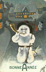 snow night-watchman