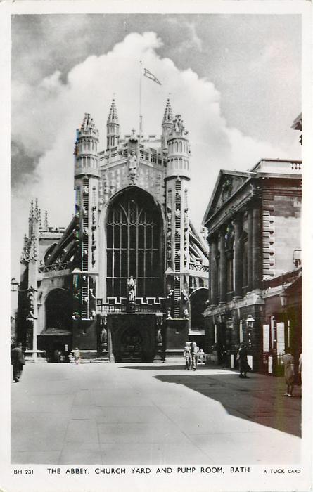 THE ABBEY, CHURCH YARD & PUMP ROOM