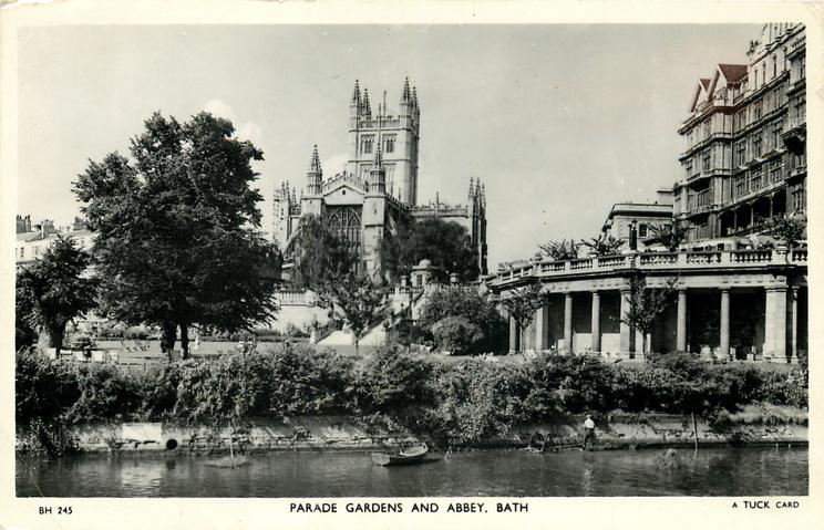 PARADE GARDENS AND ABBEY