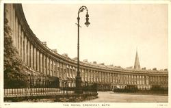 THE ROYAL CRESCENT  houses left
