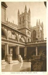 ROMAN BATH AND THE ABBEY