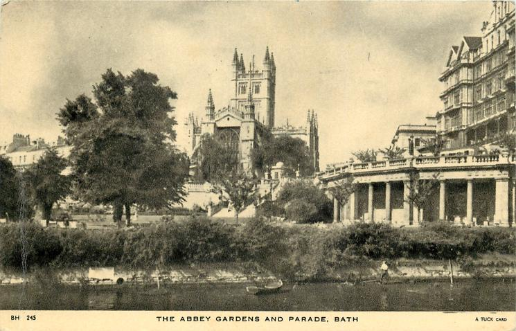 THE ABBEY GARDENS AND PARADE