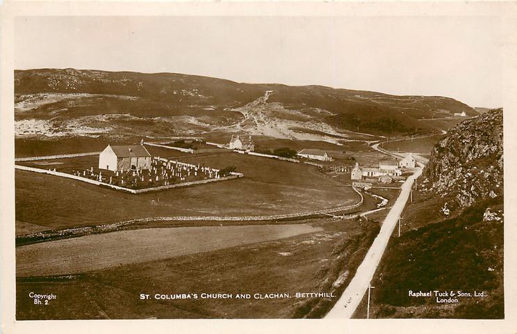 ST. COLUMBA'S CHURCH AND CLACHAN