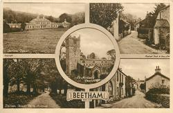 5 insets DALLAM TOWER/THE VILLAGE/ST. MICHAEL'S CHURCH/DALLAM TOWER PARK AVENUE/THE VILLAGE