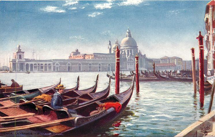 ENTRANCE TO GRAND CANAL