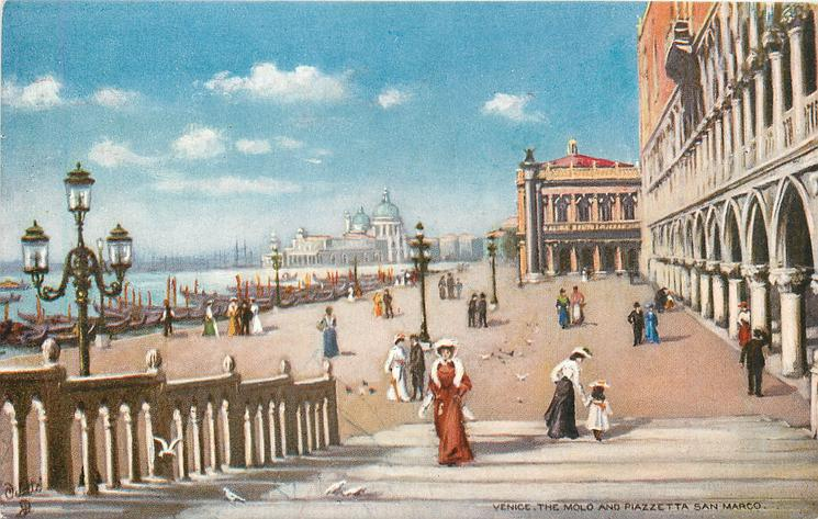THE MOLO AND PIAZZETTA SAN MARCO
