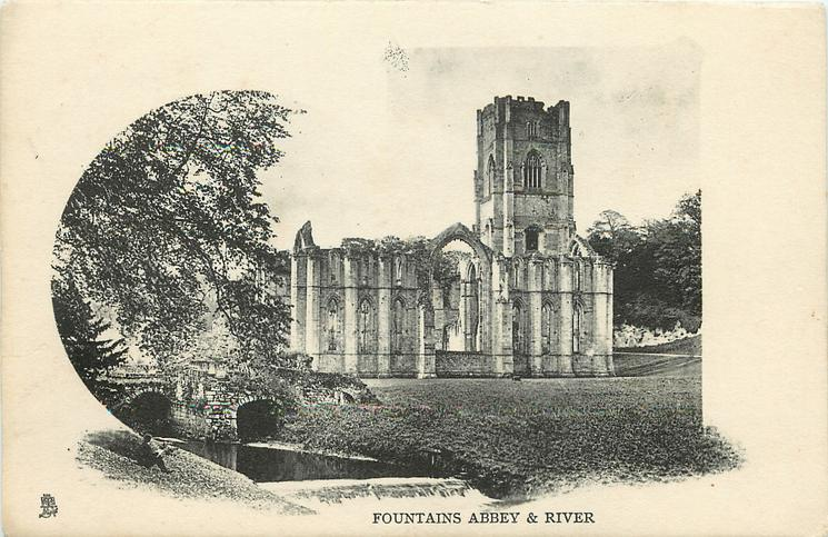 FOUNTAINS ABBEY & RIVER