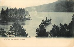 S.S 'ROB ROY' ON LOCH KATRINE
