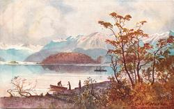 LAKE MANAPOURI, CATHEDRAL PEAKS