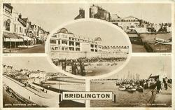 5 insets KING STREET/THE JETTY/THE SPA/SOUTH PROMENADE AND SPA/THE PIER AND HARBOUR