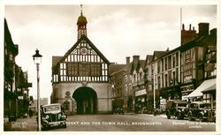 HIGH STREET AND THE TOWN HALL