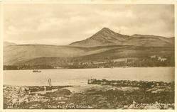 GOAT FELL FROM BRODICK