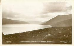 SUNLIGHT ON LITTLE LOCH BROOM
