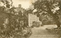 BEADNELL HALL HOTEL FROM WEST DRIVE
