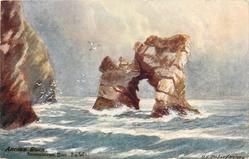 ARCHED ROCK, FRESHWATER BAY, I.O.W.