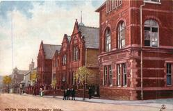 HOLTON ROAD SCHOOL, BARRY DOCK.