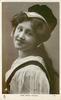 MISS MARIE WILSON  head & shoulders, facing left, looking front