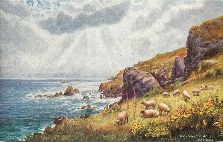 THE MANACLE ROCKS