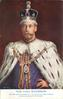 THE KING EMPEROR with or w/o IN CORONATION ROBE AND CROWN