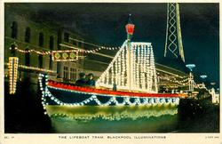 THE LIFEBOAT TRAM, BLACKPOOL ILLUMINATIONS