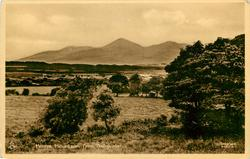 MORNE MOUNTAINS FROM BALLYKINLER