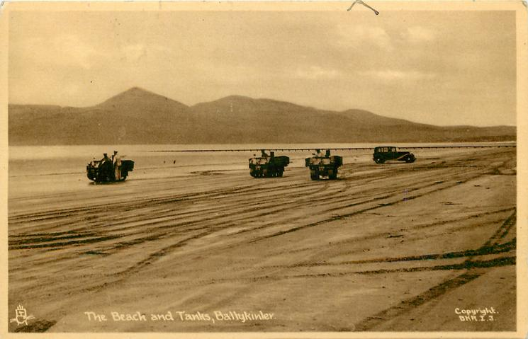 BEACH AND TANKS  distant