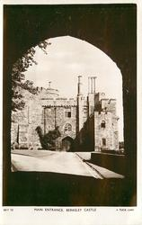 MAIN ENTRANCE, BERKELEY CASTLE