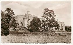 BERKELEY CASTLE FROM THE MEADOW