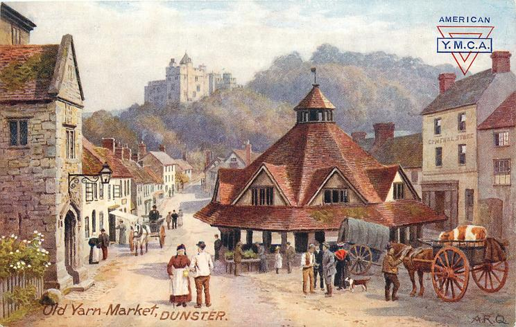 OLD YARN MARKET, DUNSTER, SOMERSET