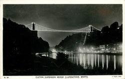CLIFTON SUSPENSION BRIDGE ILLUMINATIONS
