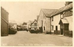 VILLAGE FROM THE SMITHY
