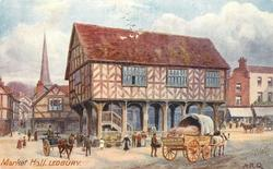 MARKET HALL, LEDBURY, HEREFORDSHIRE