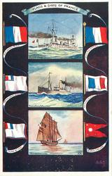 FLAGS & SHIPS OF FRANCE