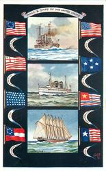 FLAGS & SHIPS OF THE UNITED STATES