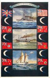 FLAGS & SHIPS OF BRITAIN'S COLONIAL EMPIRE
