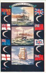 FLAGS & SHIPS OF GREAT BRITAIN