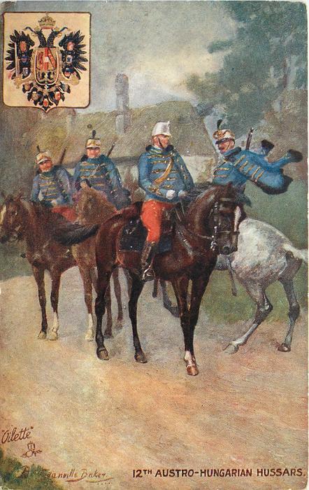 12TH AUSTRO-HUNGARIAN HUSSARS