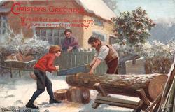 CHRISTMAS LOGS