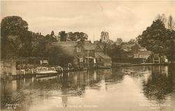 RIVER BANKS AT BECCLES