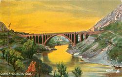 GORICA-GORIZIA-GORZ yellow sky