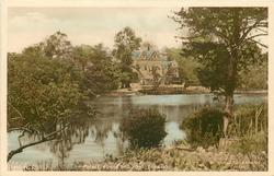 THE PALACE HOUSE AND POND