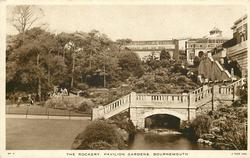 THE ROCKERY PAVILION GARDENS