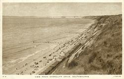 VIEW FROM OVERCLIFF DRIVE, SOUTHBOURNE