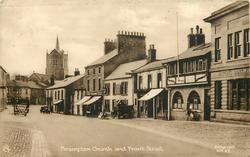 BRAMPTON CHURCH AND FRONT STREET